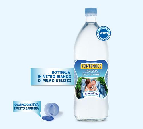 Acqua per lattanti e latte artificiale