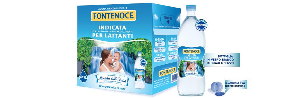 acqua per bambini neonati lattanti