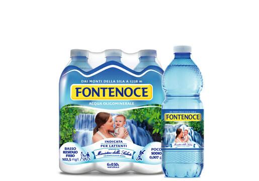 acqua fontenoce linea tradizionale per i supermercati