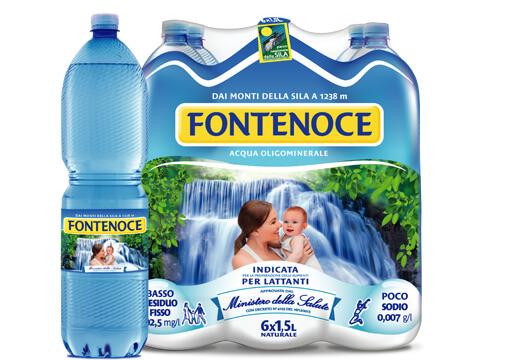 acqua fontenoce formato tradizionale 1,5 litri