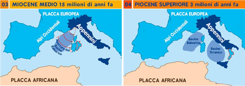 Geologia Calabria formazione
