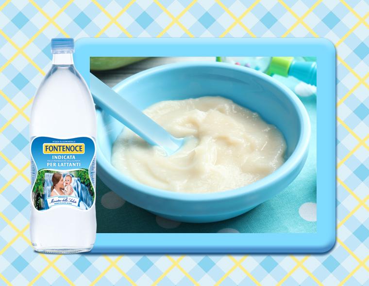 crema di riso con fontenoce