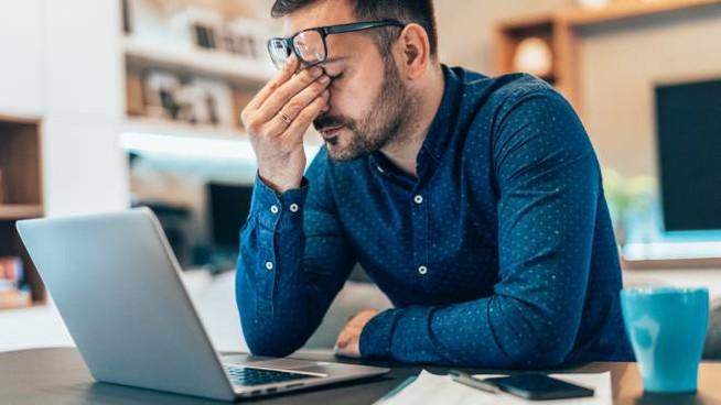 mal di testa in smartworking