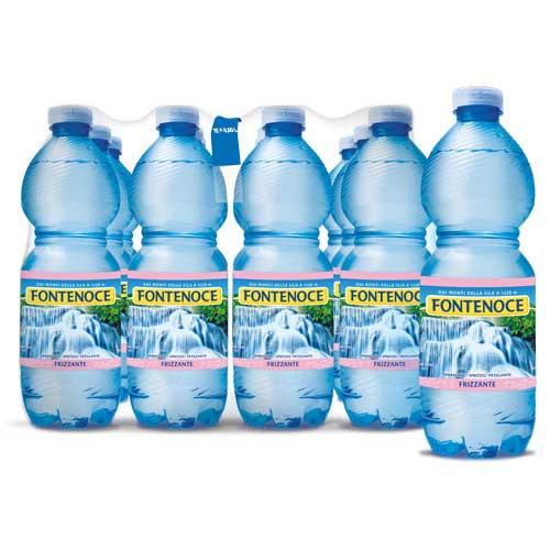 confezione acqua fontenoce frizzante 12x 0,50l