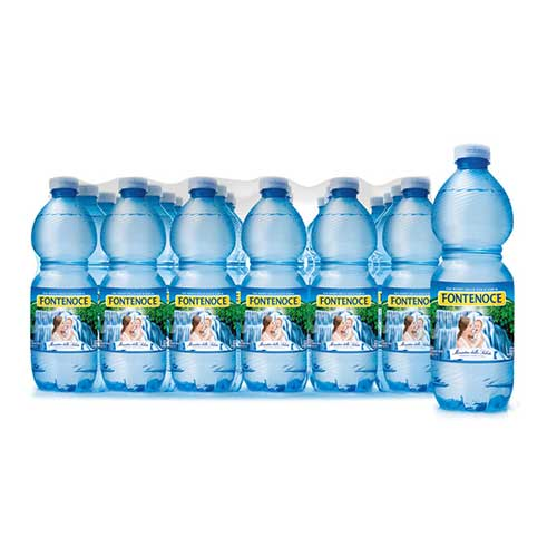 confezione acqua fontenoce naturale 24x 0,50l