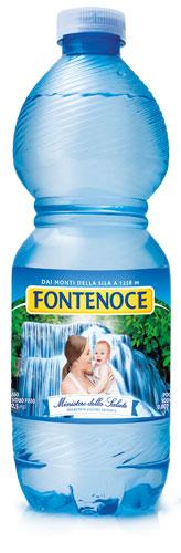 bottiglia acqua fontenoce naturale da 0,50l
