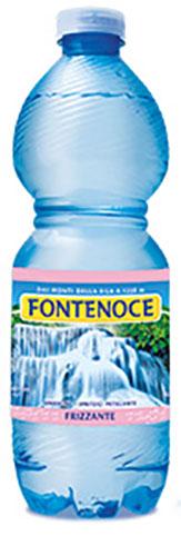 bottiglia acqua fontenoce frizzante da 0,50l