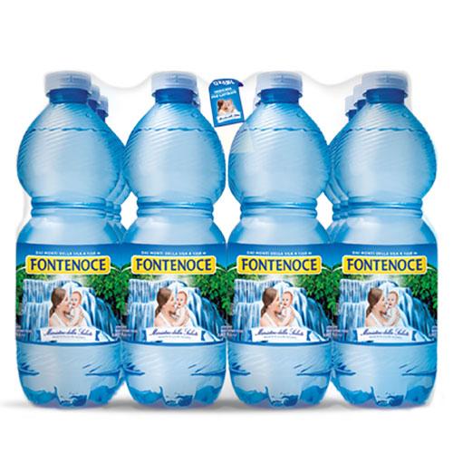 confezione acqua fontenoce naturale 12x 0,50l