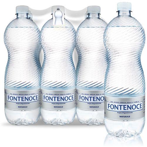 confezione acqua fontenoce linea Horeca 9x1L