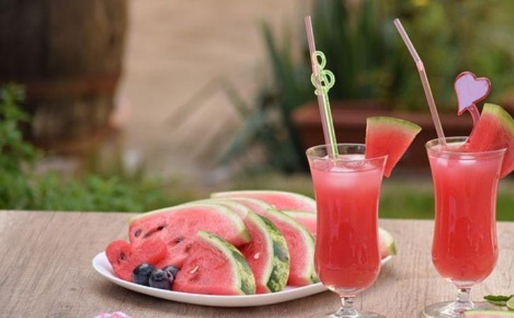 acqua aromatizzata all'anguria