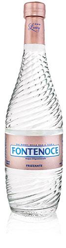 bottiglia acqua frizzante fontenoce linea Horeca luxury collection 75cl