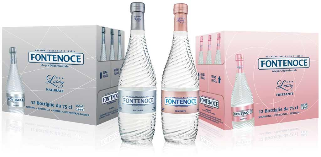 acqua oligominerale per ristoranti di alta classe