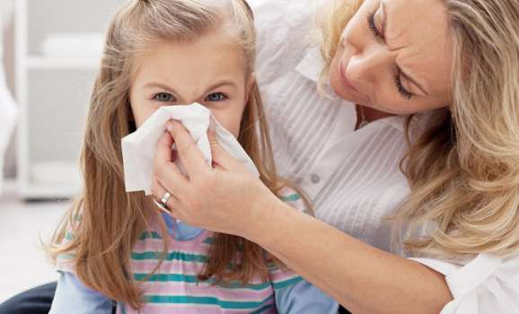 raffreddore bambini